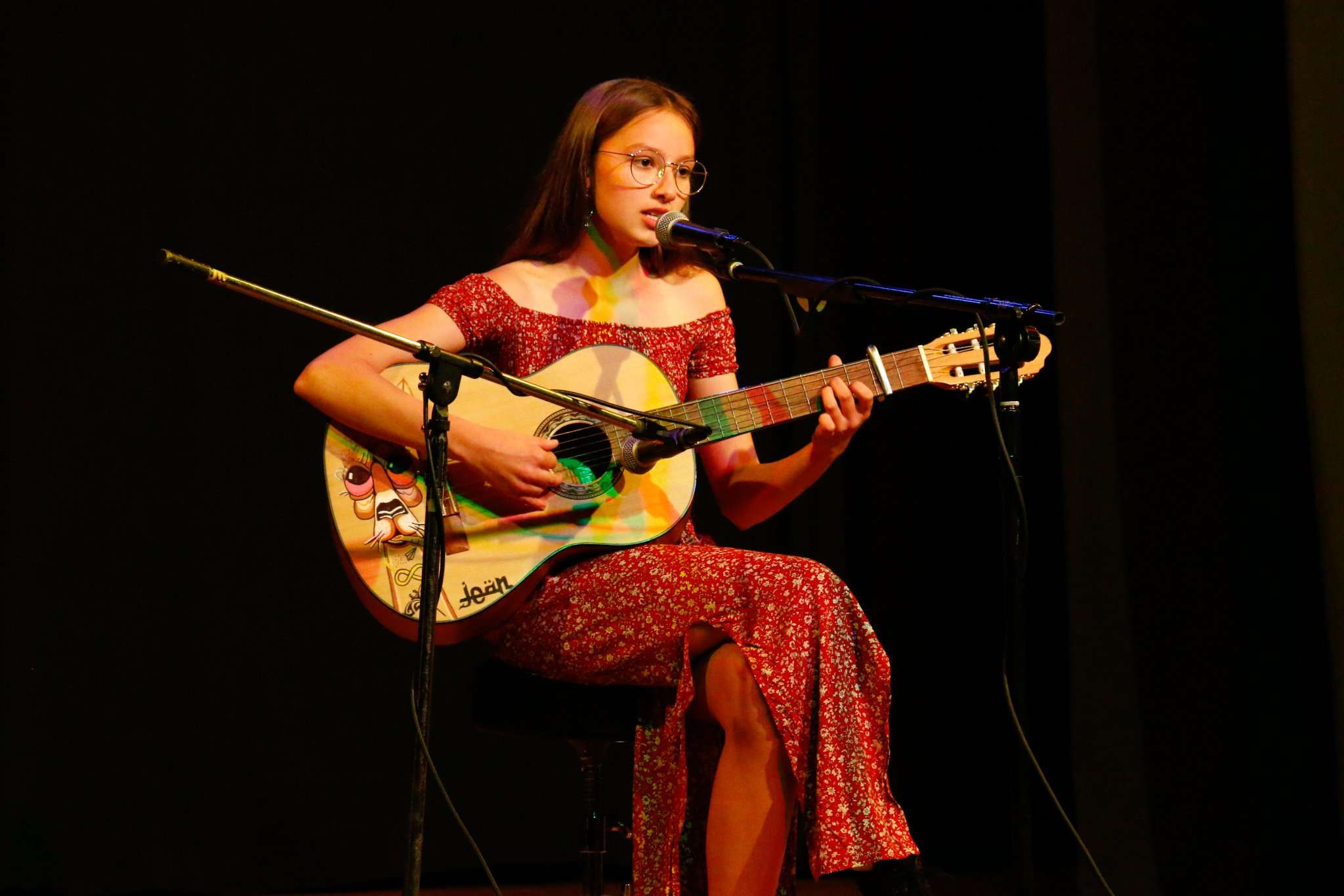 HomeGrown Talent Showcase presented by Southern Forest Arts in 2020, featuring Northcliffe performer, Maddison Bennett, at the Northcliffe Town Hall