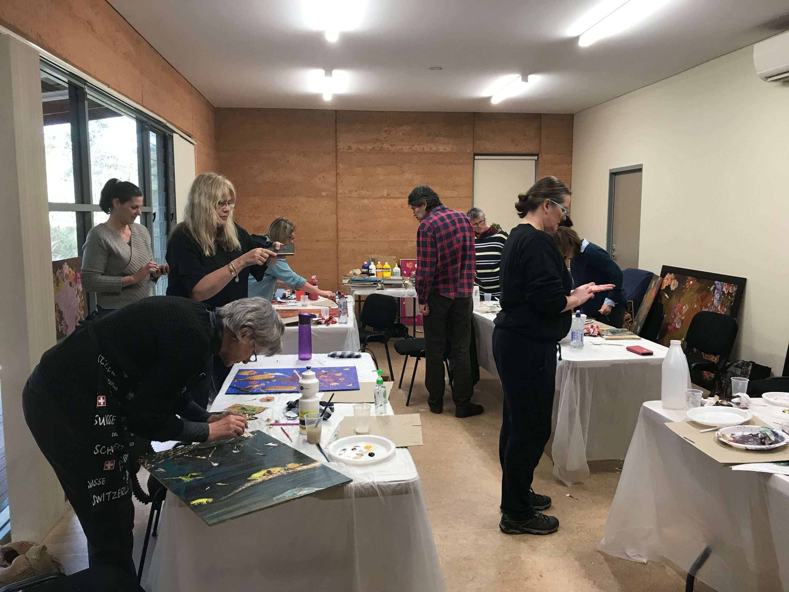 The Northcliffe Meeting Space, located within the Northcliffe Information & Visitor Centre is an ideal venue for Southern Forest Arts workshops