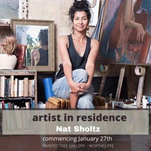 Artist in residence_ Nat Sholtz