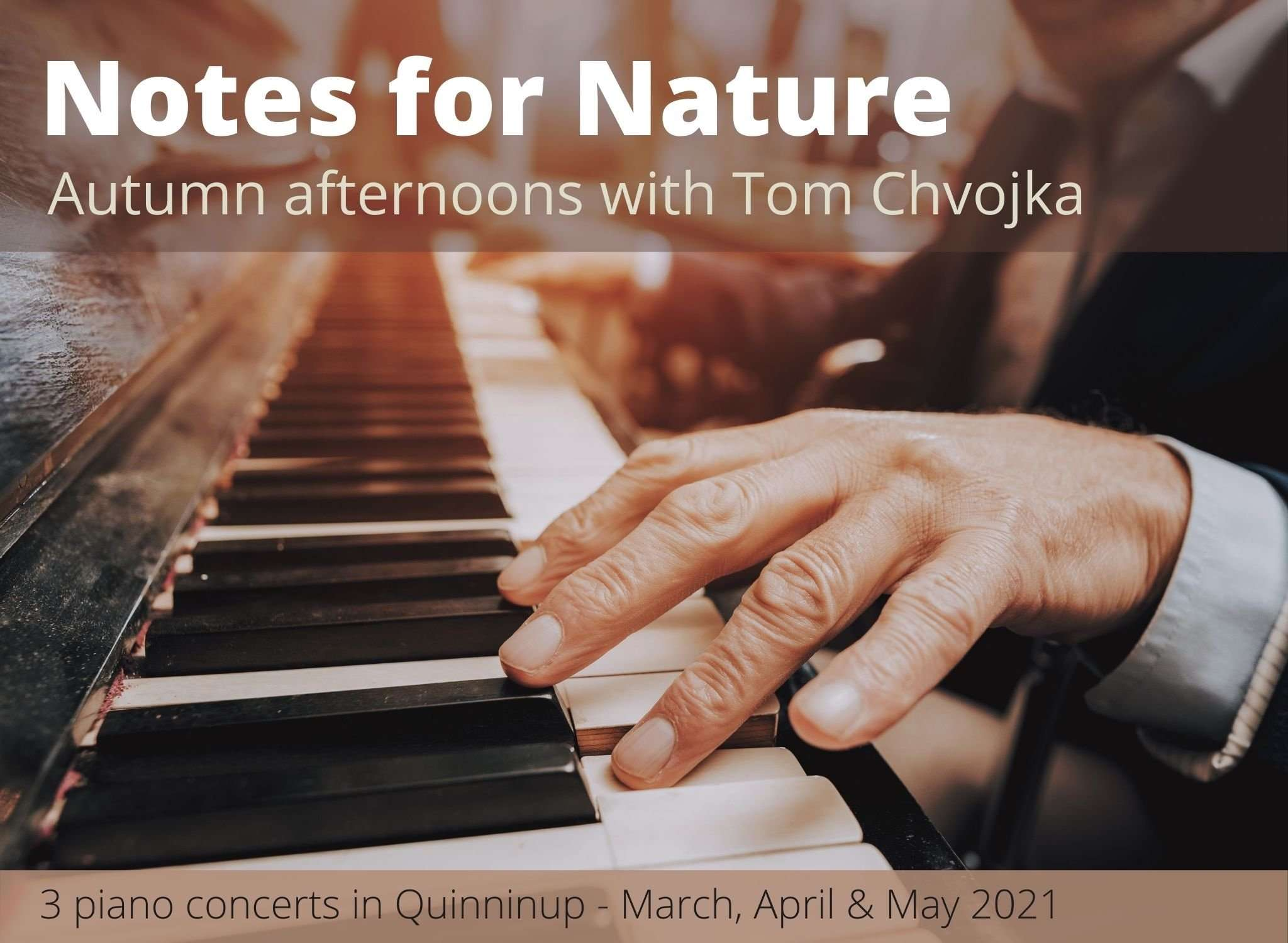 Notes for Nature Autumn afternoons in with Tom Chvojka presented in Quinninup by Southern Forest Arts