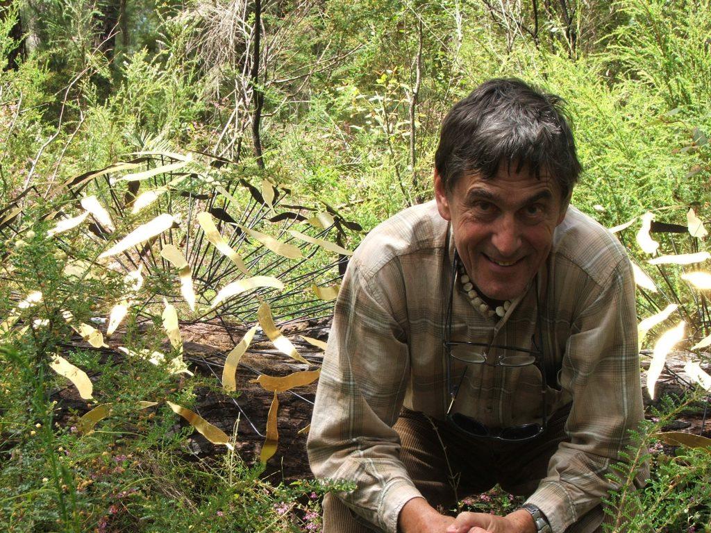 Feeding with Francois Davin, Understory Art & Nature Trail, Northcliffe, Western Australia, 2006
