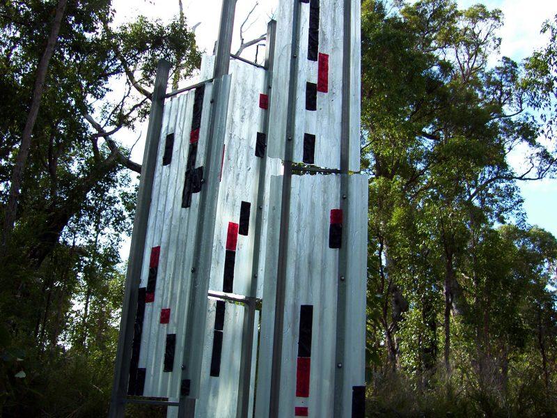 'Shades of Grey' by Duke Albada, Understory Art & Nature Trail, Northcliffe, WA, 2006