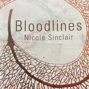 Bloodlines novel by Nicole Sinclair book cover image