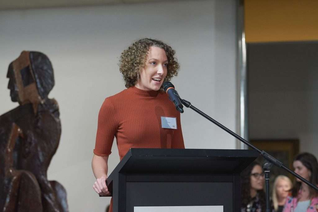 Grace MC for Pulse Perspectives Exhibition Opening (2020)