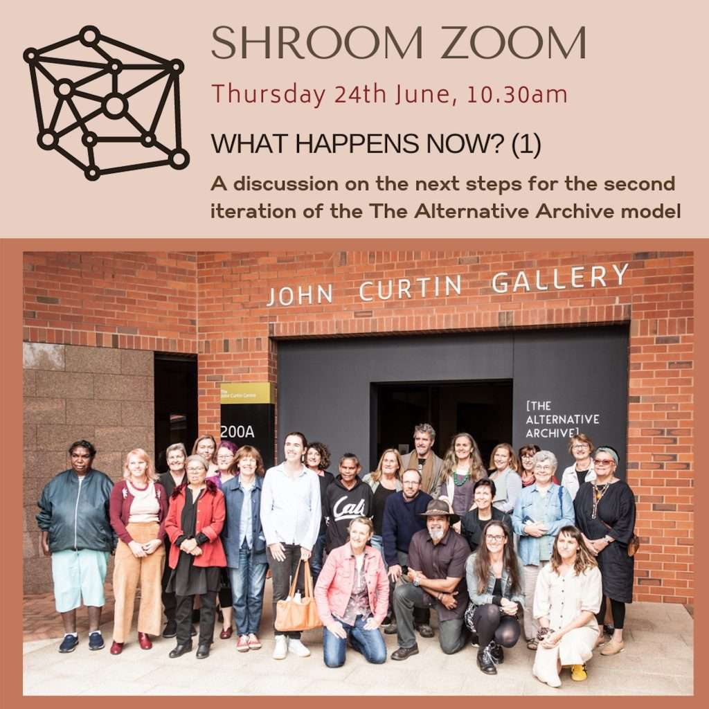 Shroom Zoom - What Happens Now? (1) Southern Forest Arts Mycelium project, Creative Grid