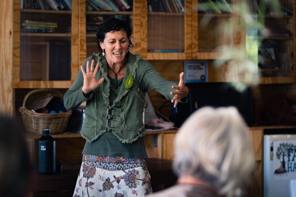 Sari Bennett Womens Day workshop - Platypus blog for the Mycelium project, Creative Grid