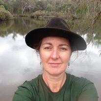 Miranda Aitken with hat