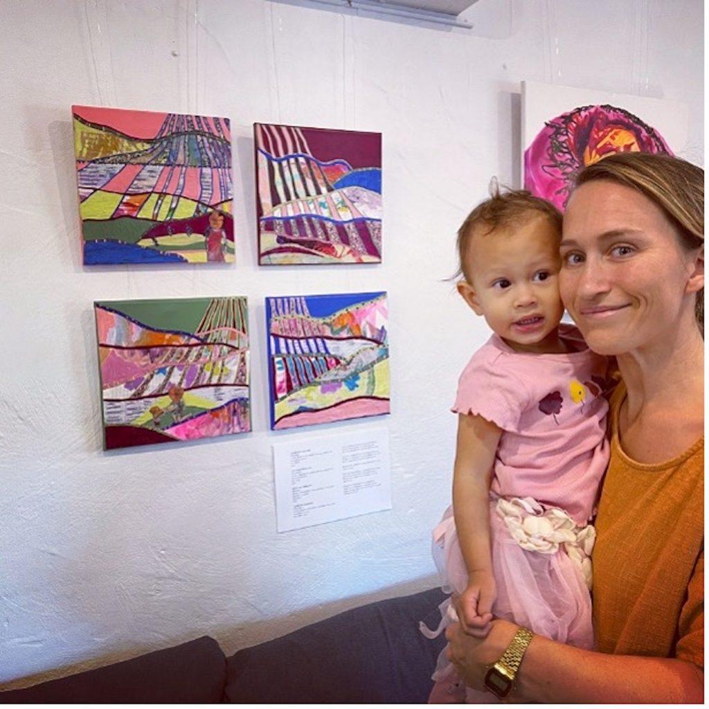 Leah and Kisah Rakabundel 'There she grows 1 + 2m' 'Mum Brain 1 + 2'