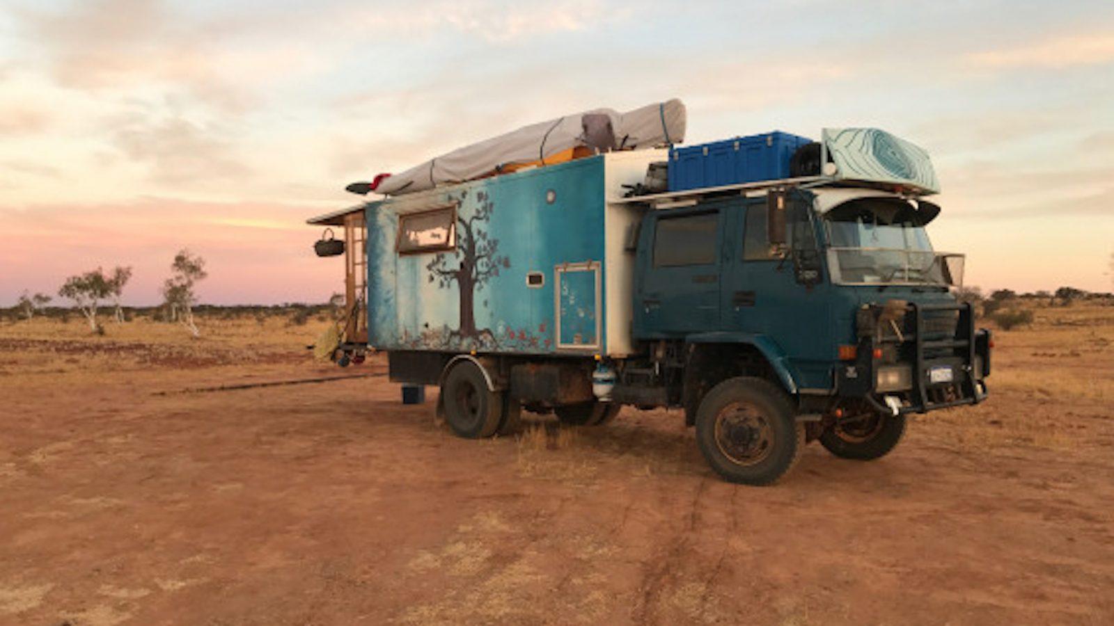 The Nomadics guest blog post for Mycelium - Truck