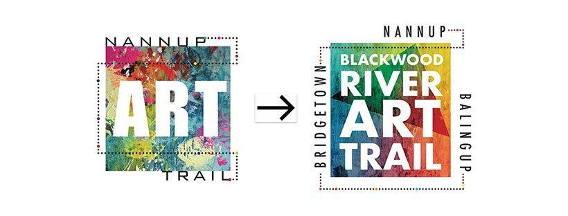 Blackwood River Art Trail logo