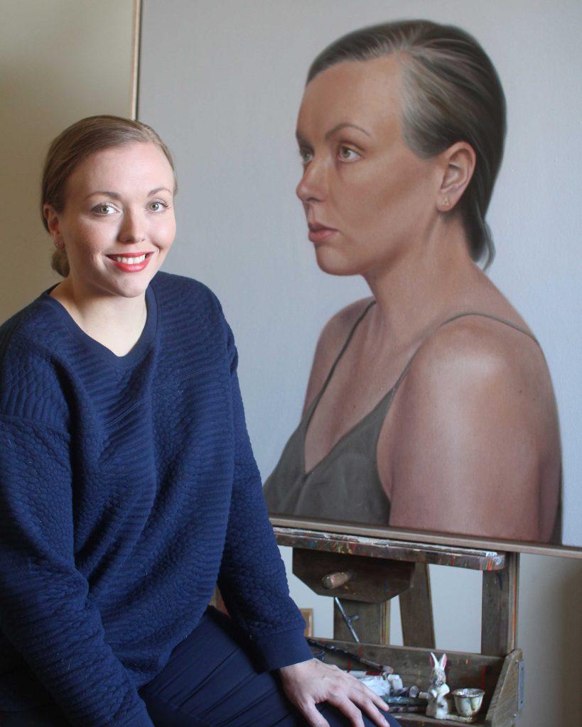 Casey Thornton, artist based in Narrogin