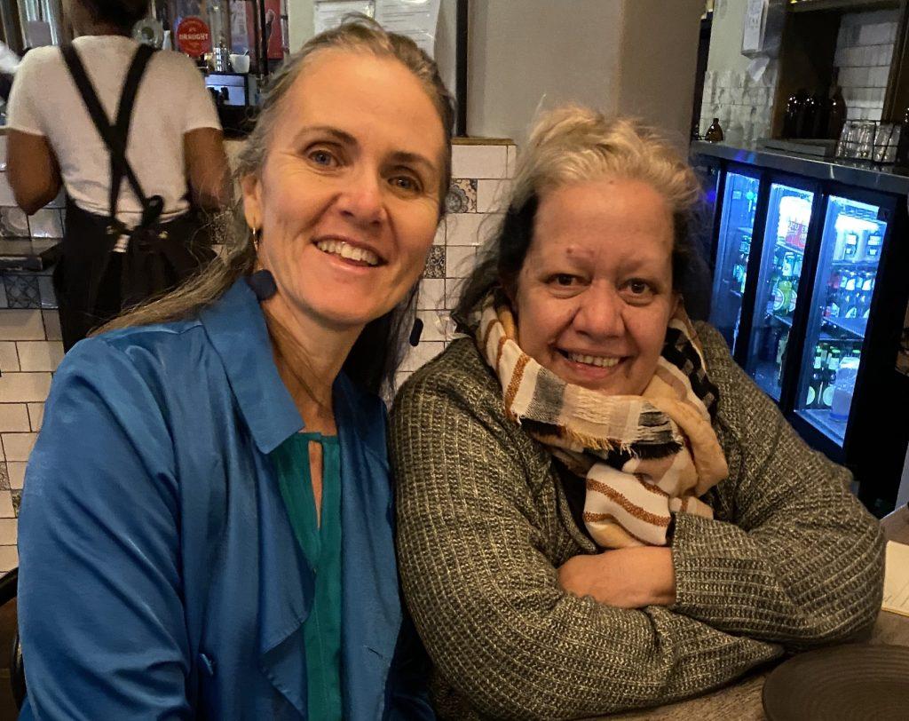 Fiona Sinclair and Deb Carmody