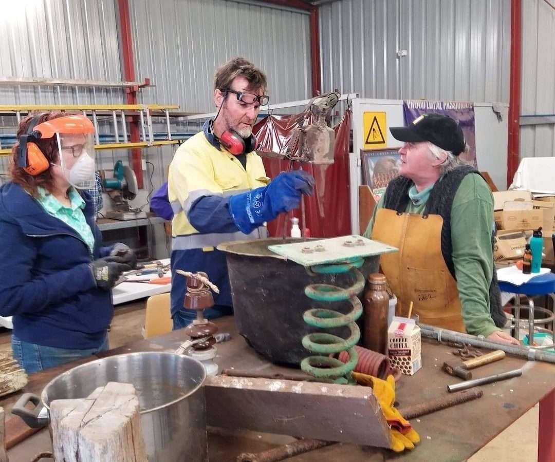 Scrap to Sculpture - Neil and others