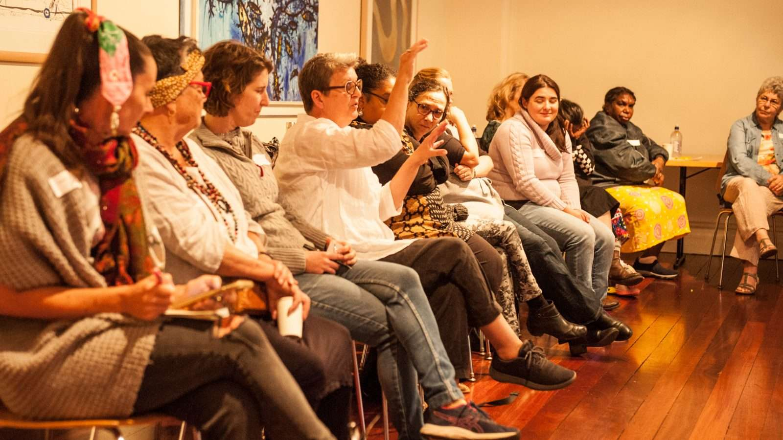 Regional female artists & curators meet at King St Arts 2021