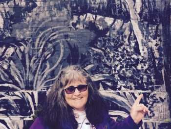 Weekends With Nalda - image of Nalda Searles, for Painted Tree gallery exhibition