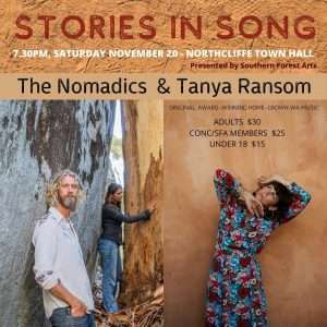 Stories in Song - Southern Forest Arr (The Nomadics and Tanya Ransom)