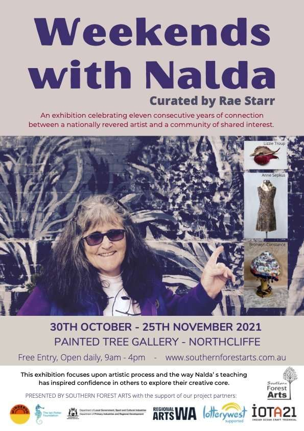Weekends With Nalda exhibition - Painted Tree gallery